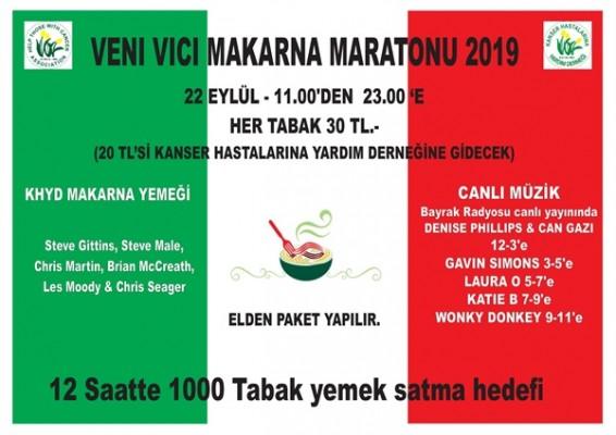 """KHYD """"Makarna Maratonu"""" düzenliyor"""