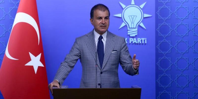 AK Parti Sözcüsü Çelik'ten Cumhurbaşkanı Akıncı'ya tepki