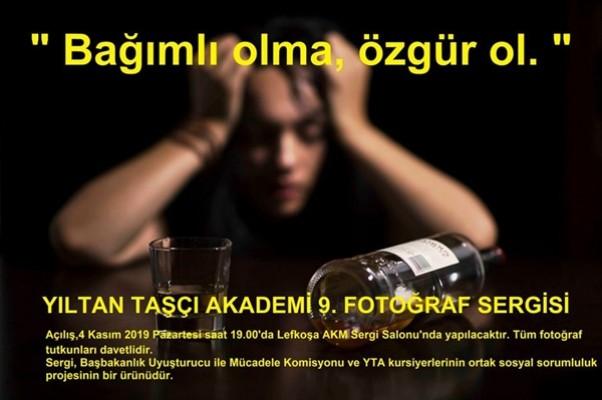 """""""Bağımlı Olma Özgür Ol"""" sergisi AKM'de"""