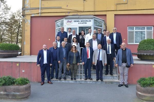 Belediye Başkanları İstanbul'da temaslarda bulundu...