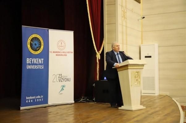 Çakıcı Mardin'de konferans verdi...