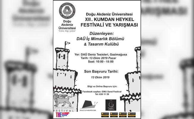 DAÜ Kumdan Heykel Festivali