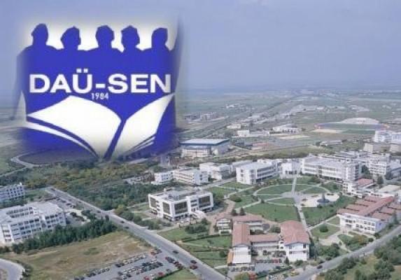 DAÜ-SEN: Rektör Osam Eğitim Fakültesini taciz ediyor!