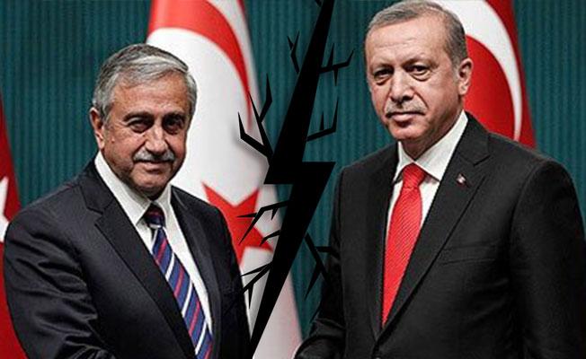 Erdoğan'dan Akıncı'ya: Haddini bil!