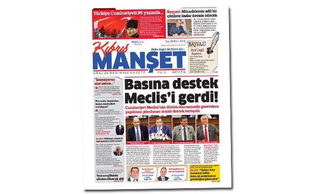 Gazetelere yapılması planlanan maddi destek Meclis'te tartışıldı...