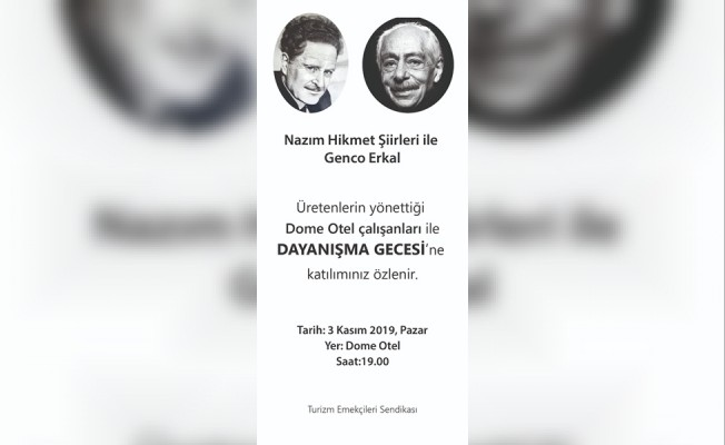 Genco Erkal, Nazım Hikmet şiirleri Dome'da