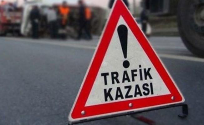 İskele-Karpaz anayolunda 2 ayrı trafik kazası...