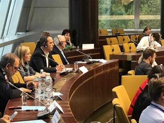 Kıbrıs Türk Belediyeler Birliği Strasbourg'da...