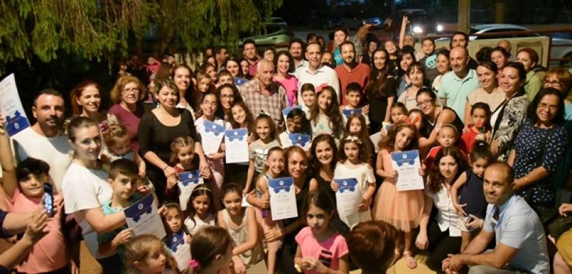 LTB-Emaa Yaz Kursları'nın sergisi açıldı
