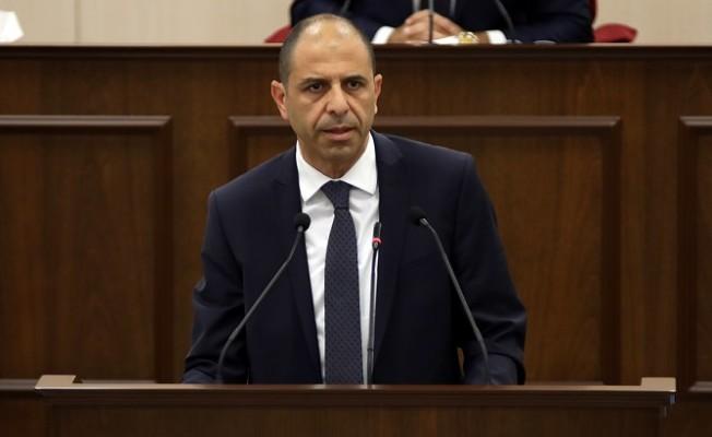 Özersay:  UBP'nin parti meclisi kararı UBP'yi bağlar...