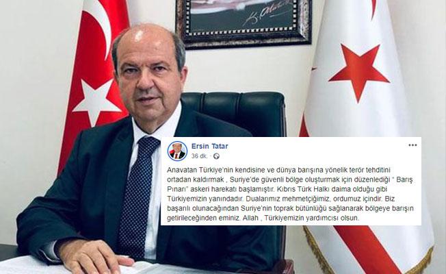 Tatar: Dualarımız Mehmetçiğimiz, ordumuz içindir...