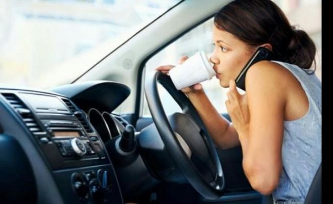 271 sürücü süratten, 145 sürücü ise cep telefonundan rapor edildi...