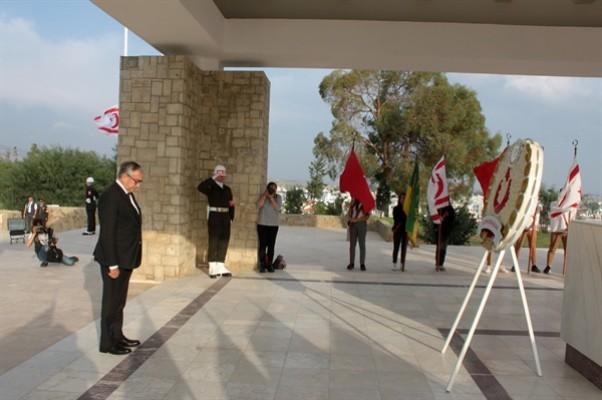 Anıttepe'de tören düzenlendi