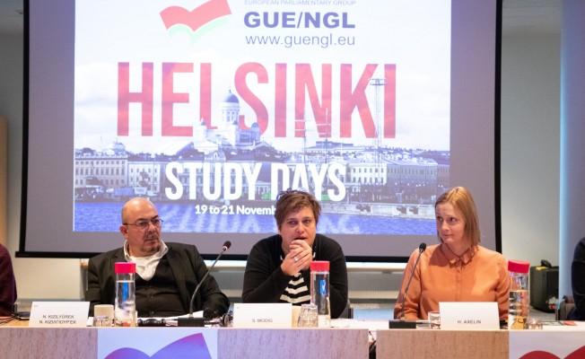 Avrupa Birleşik Sol Grubu çalışma günleri tamamlandı