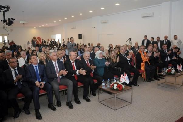 Onbeş Kasım Kıbrıs Üniversitesi Akademik Yıl Açılış Töreni yapıldı