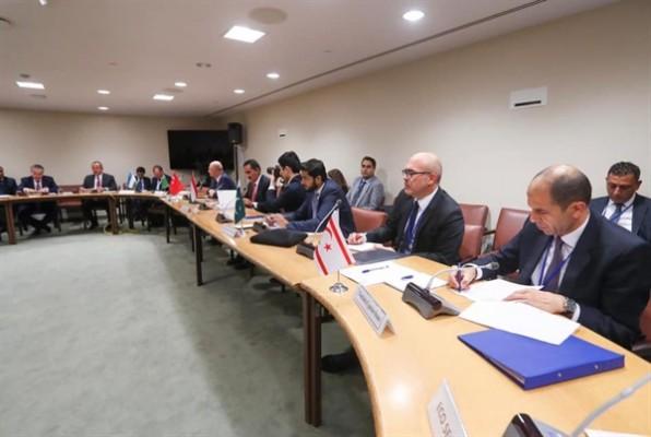 Özersay, EİT-ECO toplantısına katılmak üzere Antalya'ya gitti