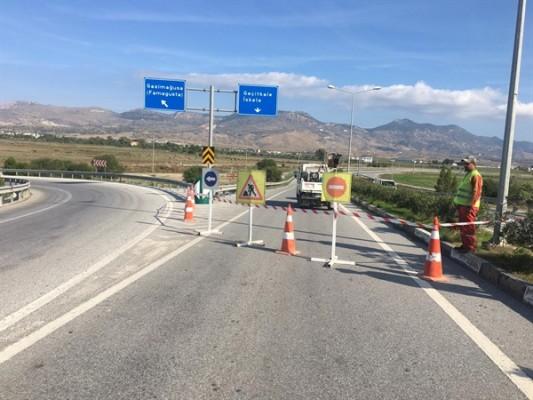 Ercan yonca kavşağı ile İskele arasında çalışmalar başladı