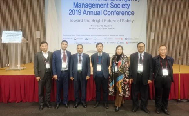 Sivil Savunma Güney Kore'de konferansa katıldı...