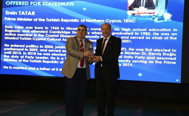 Tatar'a Stratejik Vizyon sahibi ödülü verildi