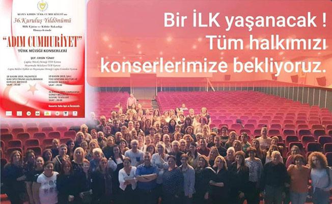 Türk müziği konserleri başlıyor...