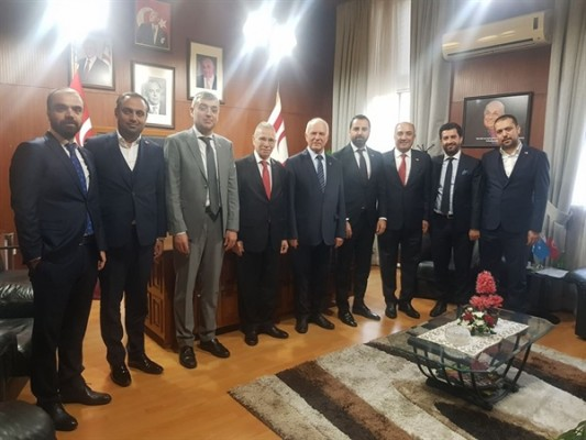 Türkiyeli ve Avrupalı yatırımcılar, Töre'yi ziyaret etti...