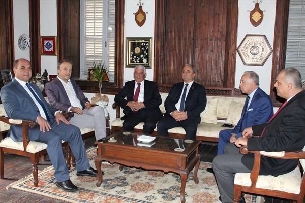 Avcılar Belediye Başkanı Hançerli,Özçınar'ı ziyaret etti...
