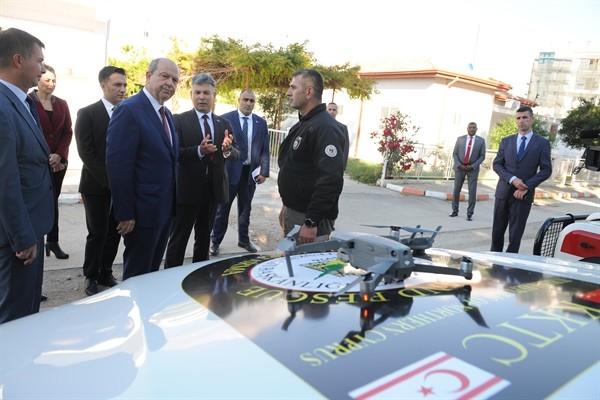 Başbakan Tatar, Sivil Savunmaya ziyarette bulundu...