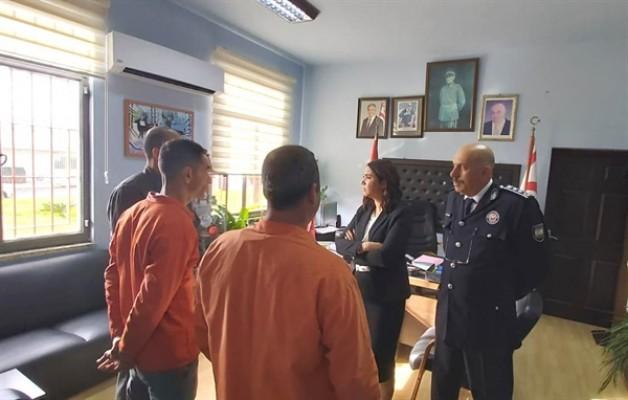 Baybars, Merkezi Cezaevi'ni ziyaret etti...