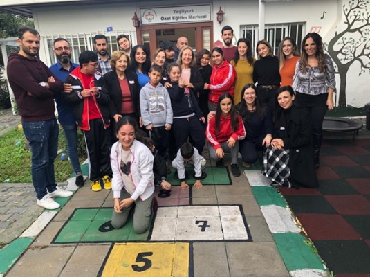CTP Kadın Örgütü Yeşilyurt Özel Eğitim Merkezi'ni ziyaret etti