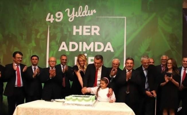 Cumhuriyetçi Türk Partisi 49 yaşında...