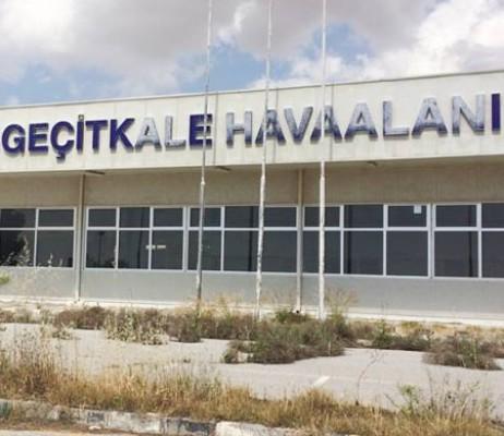 Geçitkale Havaalanı KTBK'nin emrine verildi