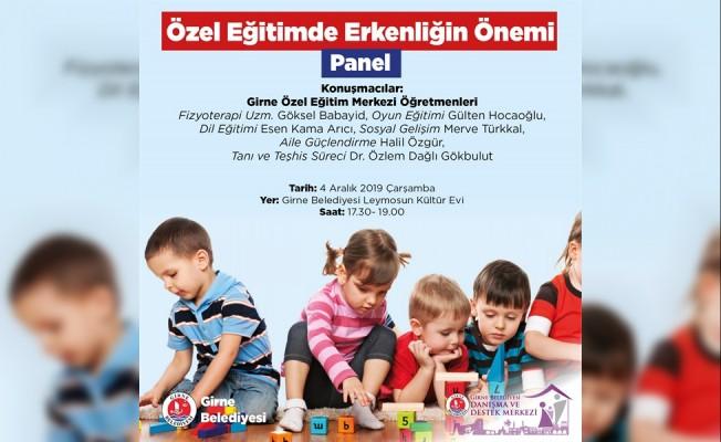 Girne Belediyesi panel düzenliyor