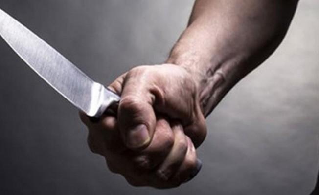 Lefkoşa'da bıçaklı kavga...