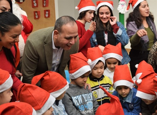 LTB el ele çocuk merkezi'nde yeni yıla merhaba partisi...