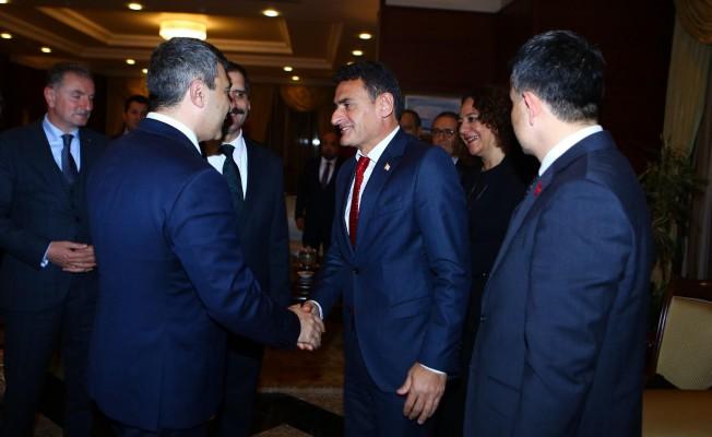 Oğuz, Azerbaycan ve Türkiye Tarım Bakanlarıyla görüştü