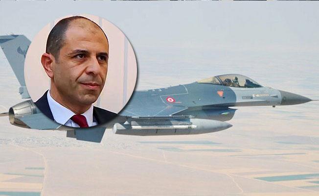 Özersay'dan Geçitkale'ye F-16 açıklaması....