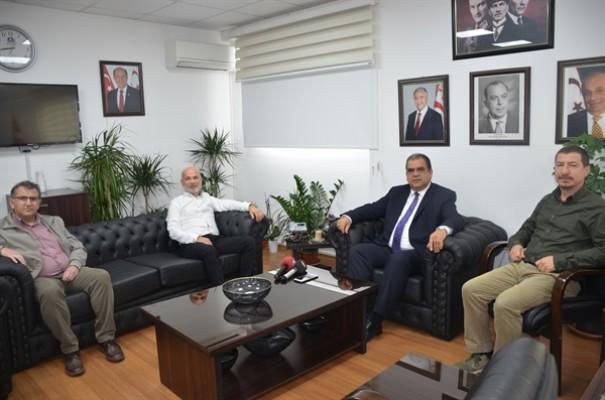 Sucuoğlu, Serbest Çalışan Hekimleri Birliği ile görüştü...