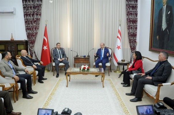 TAK Yönetim Kurulu üyeleri Tatar'ı ziyaret etti...