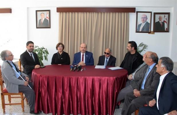 Tatar, Engelliler Federasyonu'nu ziyaret etti