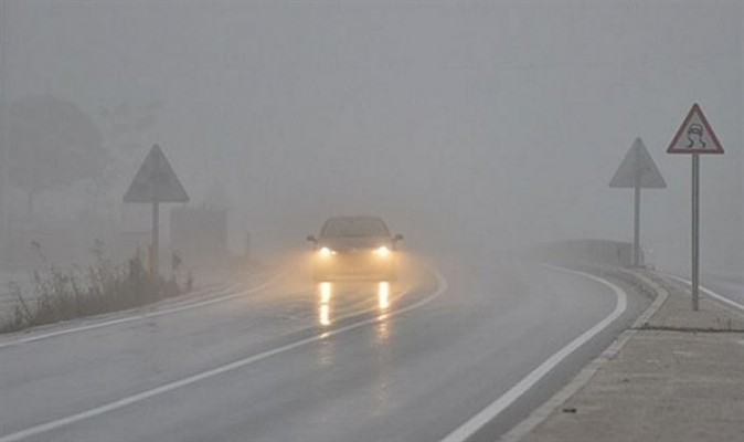 Ülke genelinde yoğun sis!