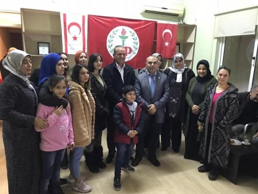 Ataoğlu: 50 yeni üyeye rozet taktı