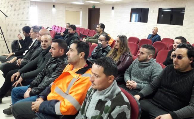 CAS eski çalışanları Genel Kurul toplantısını bir süre izledi...