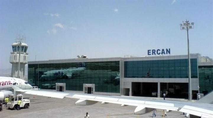 Ercan Havaalanı pistine bakım-onarım işlemi uygulandı