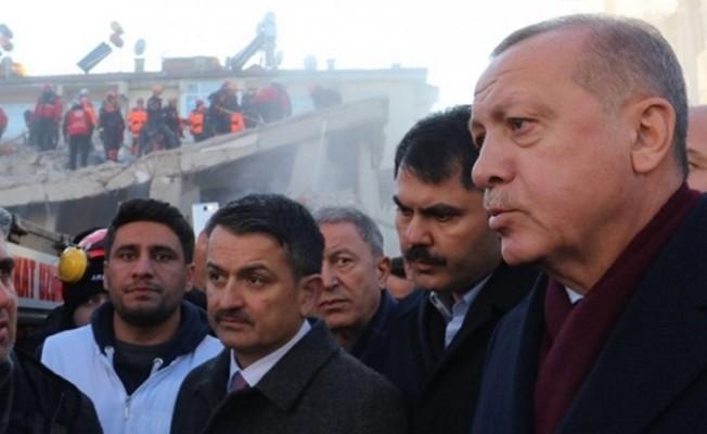 Erdoğan, Elazığ'a giderek incelemelerde bulundu