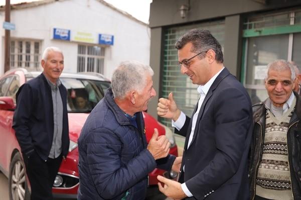 Erhürman Bostancı'yı ziyaret etti...