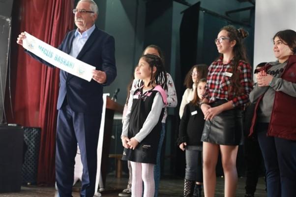 Girne Belediyesi Çocuk Meclisi Başkanlık seçimi yapıldı...