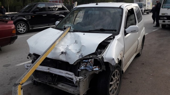 Girne Kapısı'nda kaza