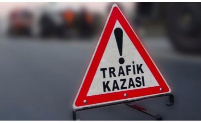 Lefkoşa'da korkutan kaza: 1 ağır yaralı