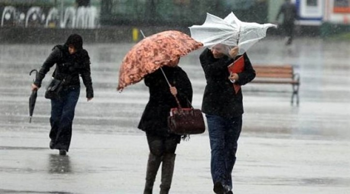 Meteoroloji Dairesi'nden sağanak ve fırtına uyarısı....