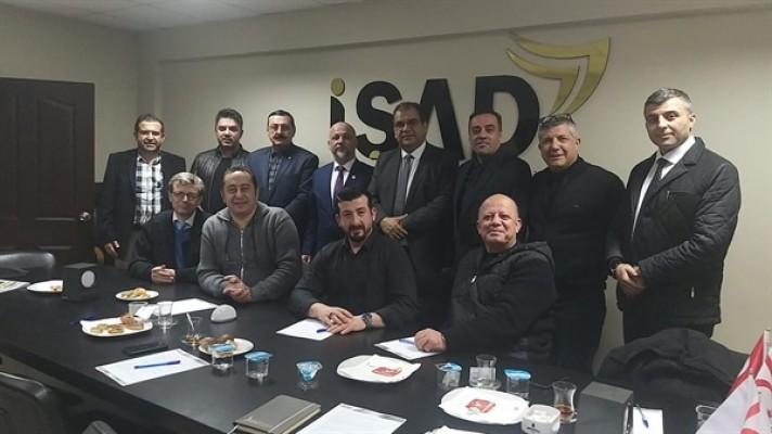 Sucuoğlu, İŞAD Yönetim Kurulu toplantısına katıldı